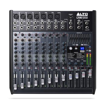 Alto Live 1202 12-Channel / 2-Bus Mixer with Dynamic Control