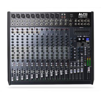 Alto Live 1604 16-Channel / 4-Bus Mixer with Dynamic Control