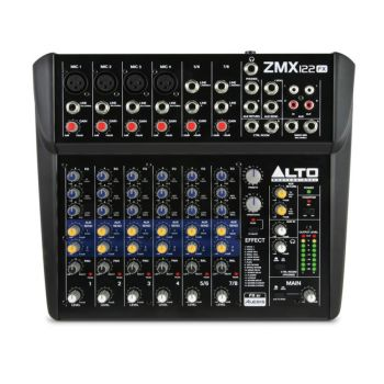 Alto Zephyr ZMX122FX 8-Channel Compact Mixer with FX