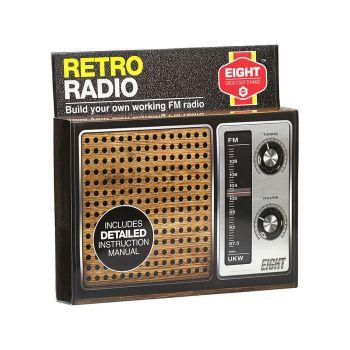 EIGHT Build Your Own Retro Radio Kit