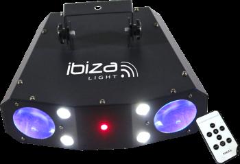 Ibiza Light Moonflower-Strobe-Laser Combo