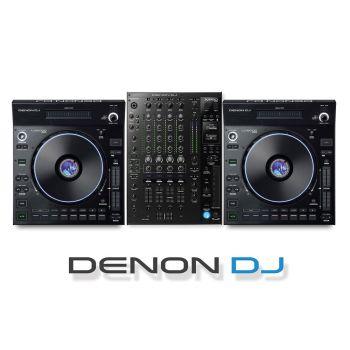 Denon DJ PRIME Mixer and DJ Controller Bundle