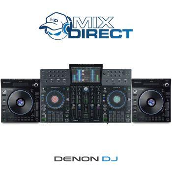 Denon DJ PRIME 4 and LC6000 Pro Bundle