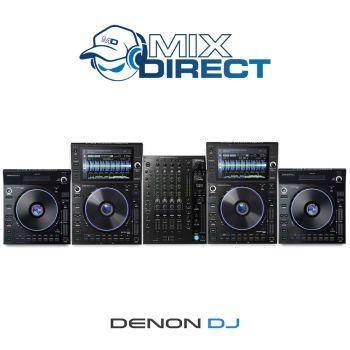 Denon DJ PRIME Elite 4-Deck DJ Bundle