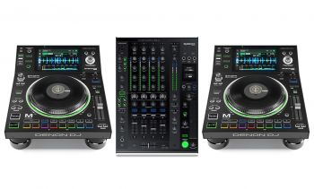 Denon SC5000M Media Player and X1800 Mixer DJ Equipment Package