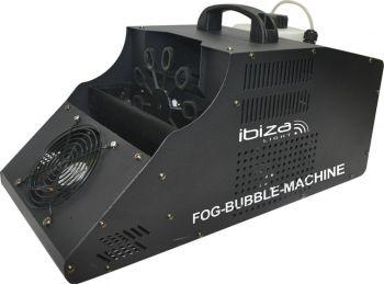Ibiza Light 3-in-1 Fog Bubble Machine