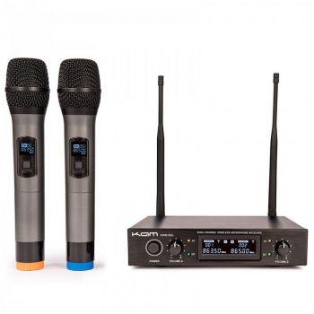 Kam KWM1932 V3 Twin Professional UHF Wireless Microphone System