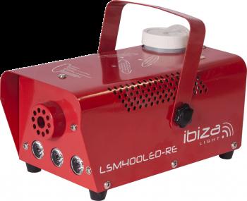 Ibiza Light LSM-400LED 400w Mini Fog Machine with LEDs (Various Colours)