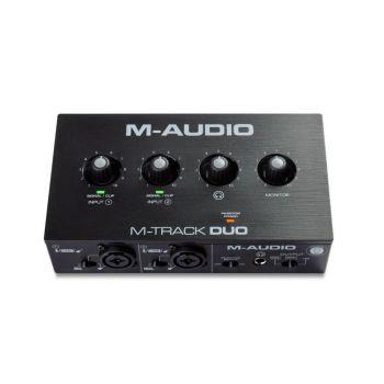 M-Audio M-Track Duo Audio Interface