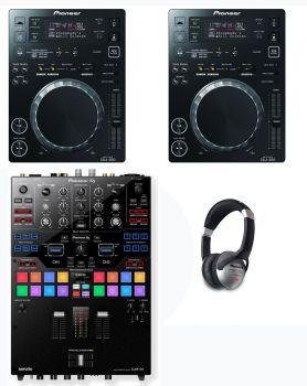 Pioneer CDJ-350 & DJM-S9 Package