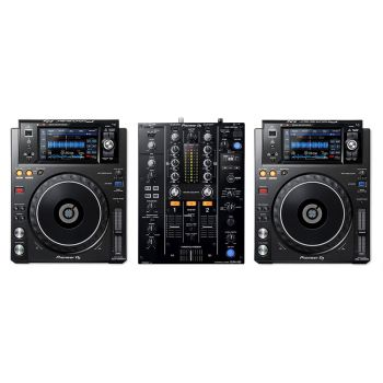 Pioneer XDJ-1000MK2 and DJM-450 DJ Equipment Package