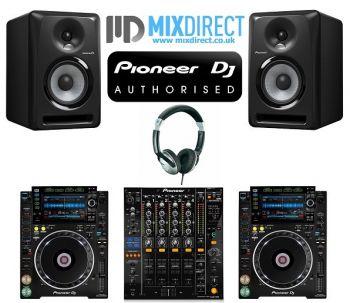 Pioneer CDJ-2000NXS2, DJM850k and S-DJ50X DJ Equipment Package