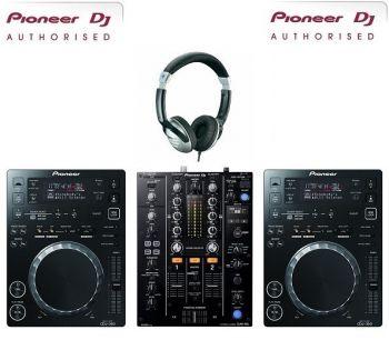 Pioneer CDJ-350 and DJM-450