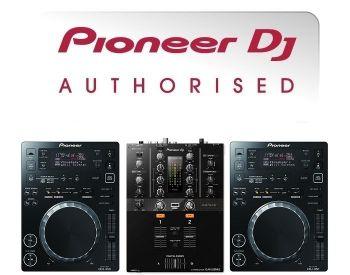 Pioneer CDJ-350 and DJM-250MK2