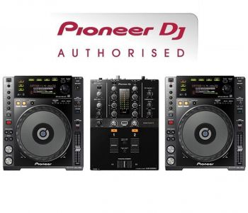 Pioneer CDJ-850K and DJM-250MK2