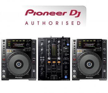 Pioneer CDJ-850K and DJM-450