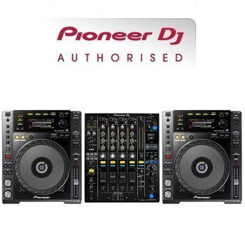 Pioneer CDJ-850K and DJM-900NXS2