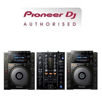 Pioneer CDJ-900NXS and DJM-450