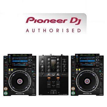 Pioneer CDJ-2000NXS2 and DJM-250MK2