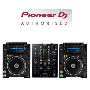 Pioneer CDJ-2000NXS2 and DJM-450