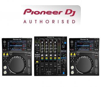 Pioneer XDJ-700 and DJM-900NXS2 Professional DJ Equipment Package