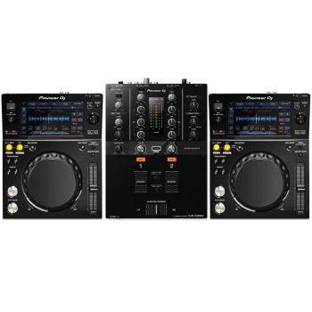 Pioneer XDJ-700 and DJM-250MK2