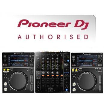 Pioneer XDJ-700 and DJM-750MK2