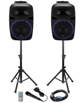 Ibiza Sound PKG12A Set Up