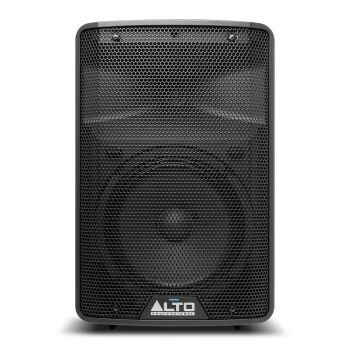 The Alto TX310 is a 350-watt powered speaker that was designed for a wide range of live sound applications.