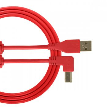 UDG USB Cable A-B 2M Red Angled