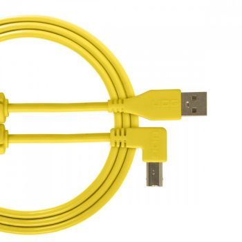UDG USB Cable A-B 2M White Angled