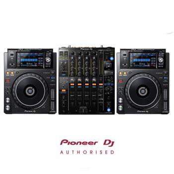 Pioneer XDJ-1000MK2 and DJM-900NSX2 DJ Equipment Package