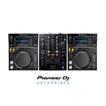 Pioneer XDJ-700 and DJM-450 Professional DJ Equipment Package