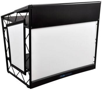 LiteConsole XPRS Black Foldable Mobile DJ Stand