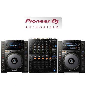 Pioneer CDJ-900NXS and DJM-750MK2