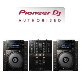 Pioneer CDJ-900NXS and DJM-250MK2