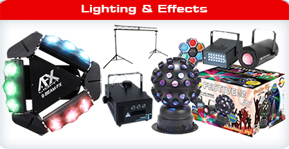 DJ Lighting - Disco Lights and Effects