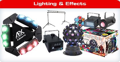 DJ Lighting - Disco Lights and Effects